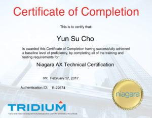 YSCho__TridiumCertificate